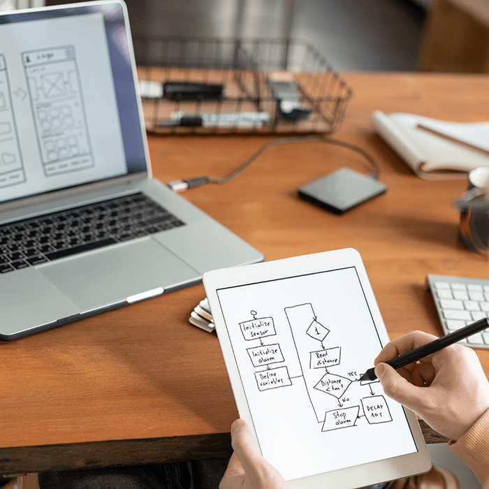 UX Flows and Wireframes